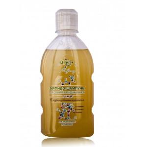 Бифидо-шампунь для сухих и поврежденных волос, (Микролиз), 250 мл.